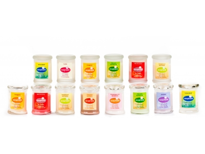 Eco-friendly Soy Wax Metro Jar: 60ml