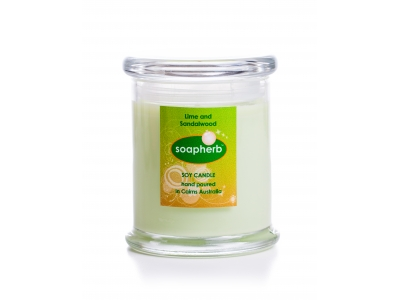 Eco-friendly Soy Wax Metro Jar: 340ml