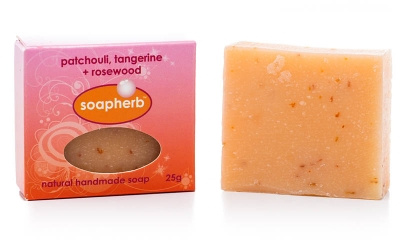 Patchouli + Tangerine + Rosewood